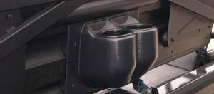 2010-13 Polaris Ranger Crew 800 Rear Seat Beverage Holder