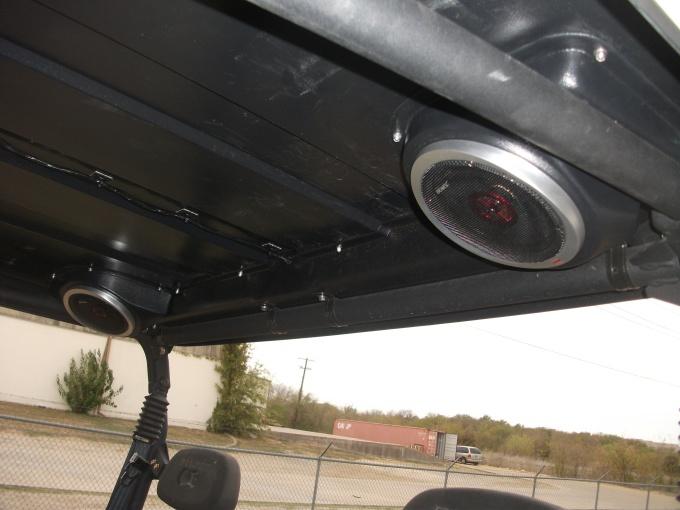Rear Speaker add on kit for Crew Tops