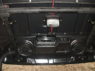 Transmule Top w/Stereo & Lights - SD696
